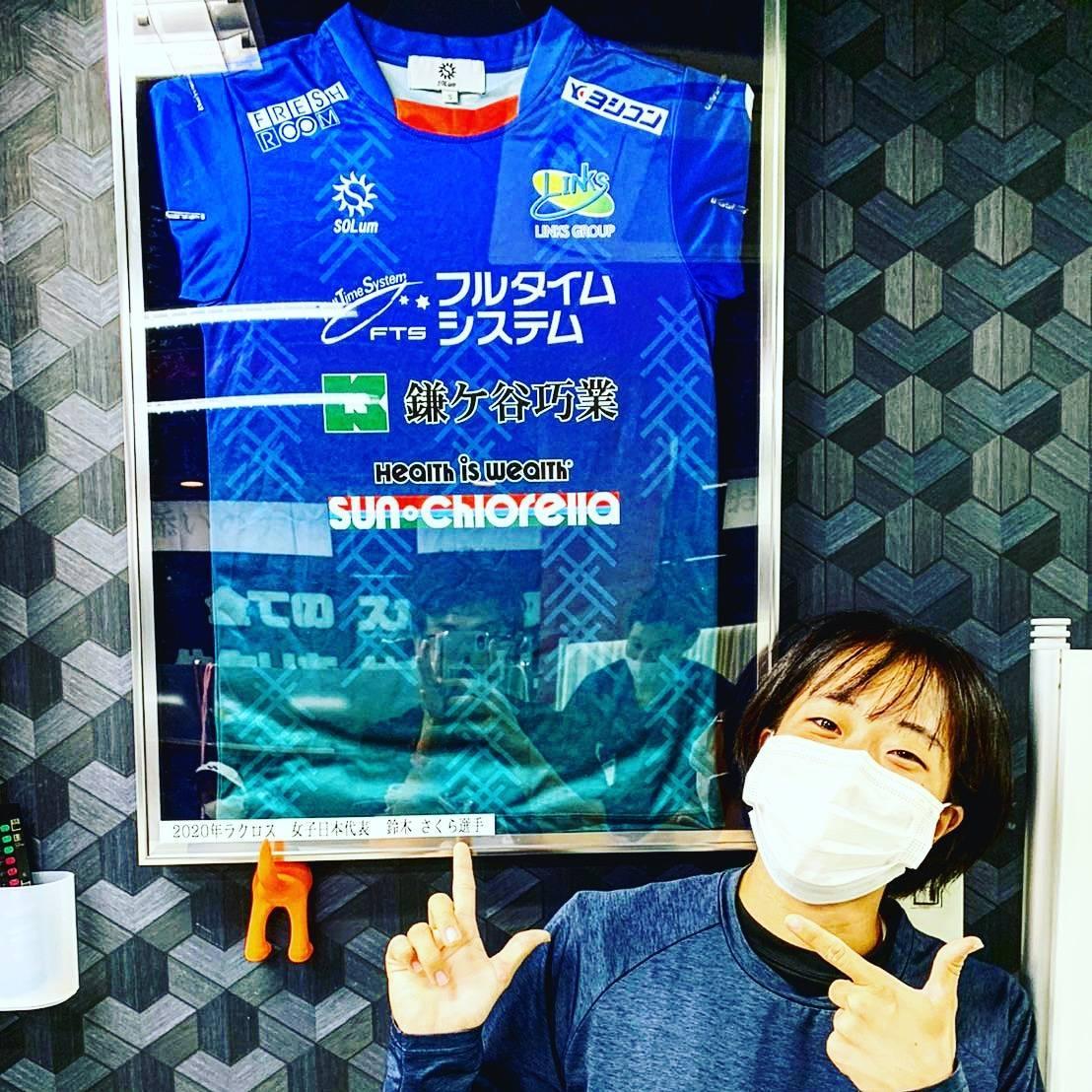 日本 代表 女子 ラクロス